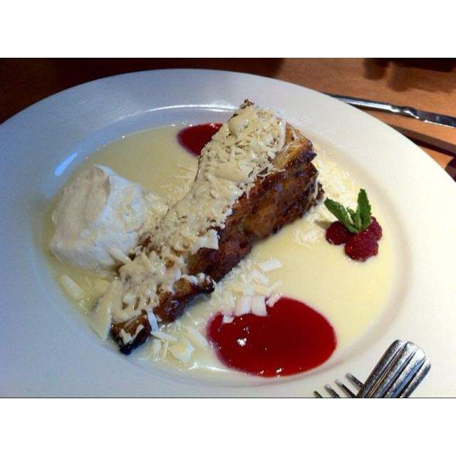 White chocolate bread pudding @ Nordstrom Cafe | Dessert cake recipes, Chocolate bread pudding ...