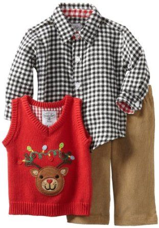 I love this outfit!! It was my son\u0027s first Christmas outfit The