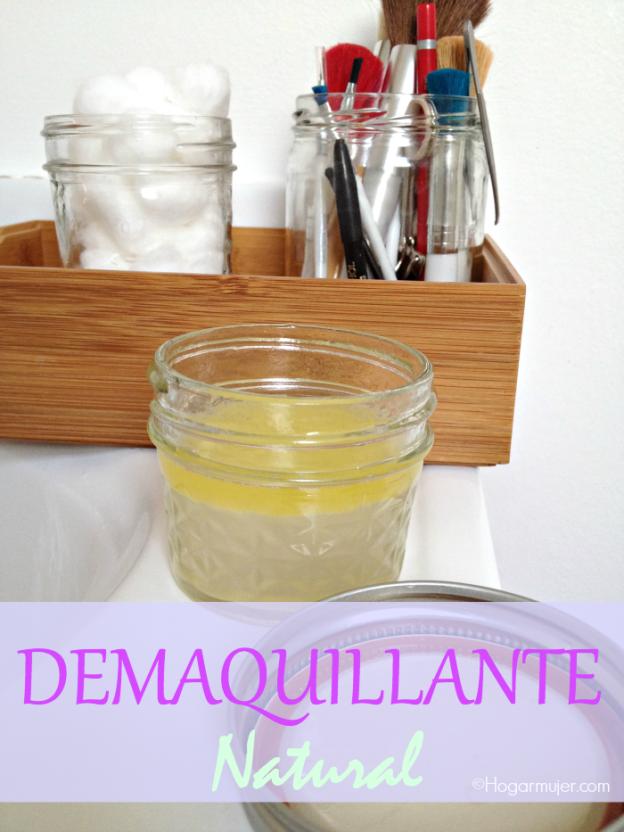 #Demaquillante #natural #HazloTuMisma #DIY