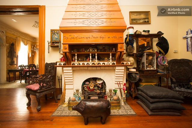 Fireplace 1st Floor Parks Bowman Mansion Garden District New