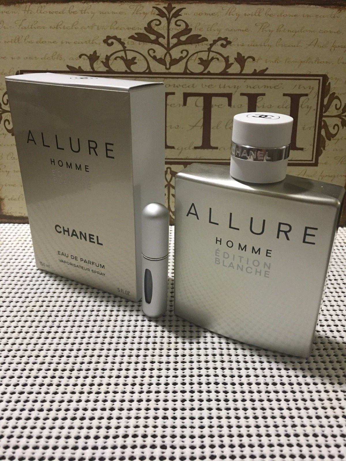 d74252c15c 13.95 | CHANEL ALLURE HOMME EDITION BLANCHE EDP - 5ML Sample In ...
