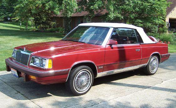 Chrysler Lebaron Convertible 1986 Plymouth Coupe Rhpinterest: 1986 Chrysler Lebaron Convertible Radio At Gmaili.net