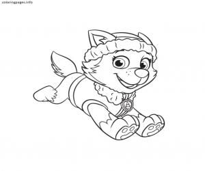 Paw Patrol Everest Coloring Pages Paw Patrol Coloring Paw Patrol Coloring Pages Everest Paw Patrol