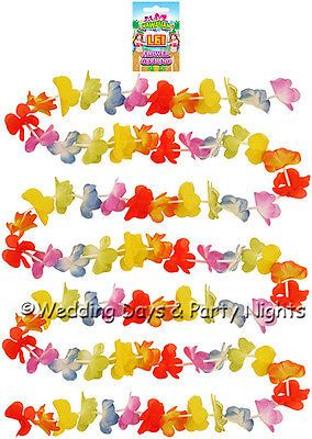 9ft Lei Flower Garland Hawaiian Tropical Beach Banner / Garden Party Decoration