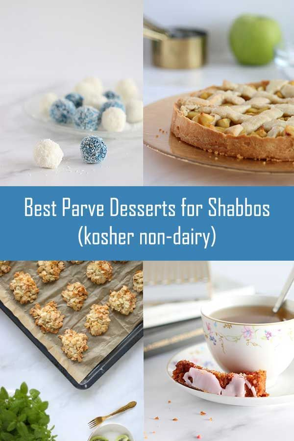 I Rounded Up All My Parve Dessert Recipes And Each One Tastes Delicious Check Out The List Now Food Kosher Desserts Kosher Dessert Recipes No Dairy Recipes