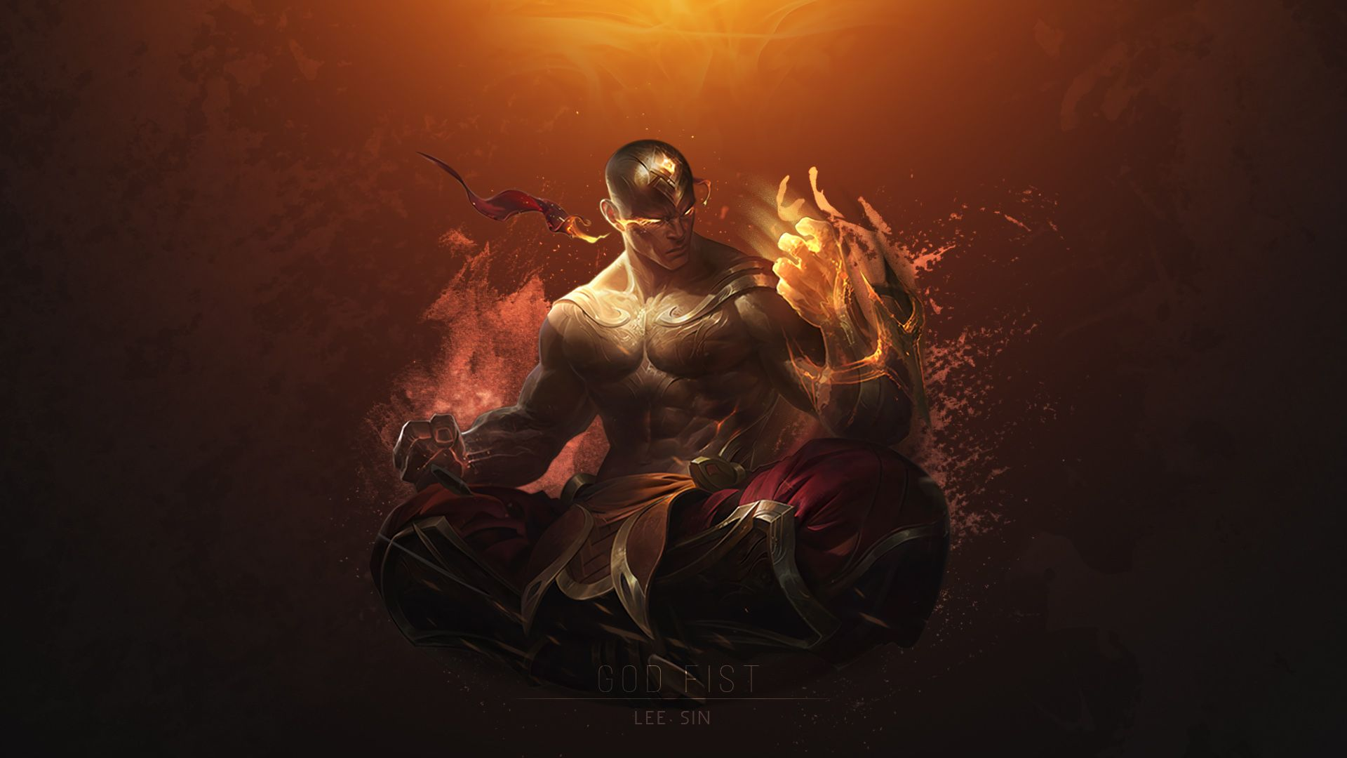 League Of Legends Lee Sin Wallpapers Photo League Of Legends Art Wallpaper