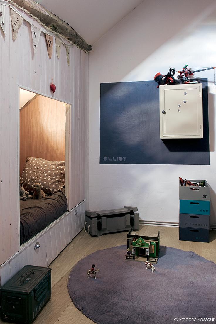On cache le lit dans une alcove pour créer un coin boudoir ! #dccv ...