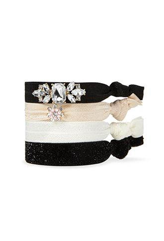 Embellished Retro Inspired Hair Tie Set  af1ce715e3e