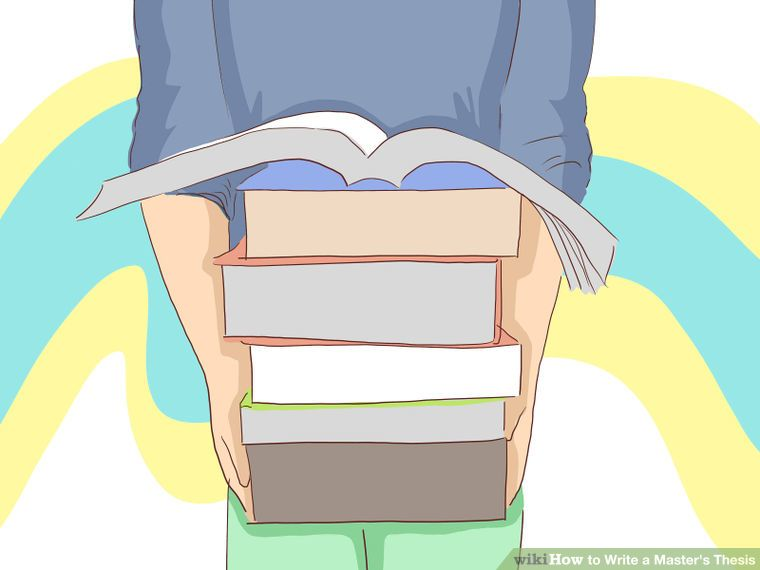 Master thesis how to write