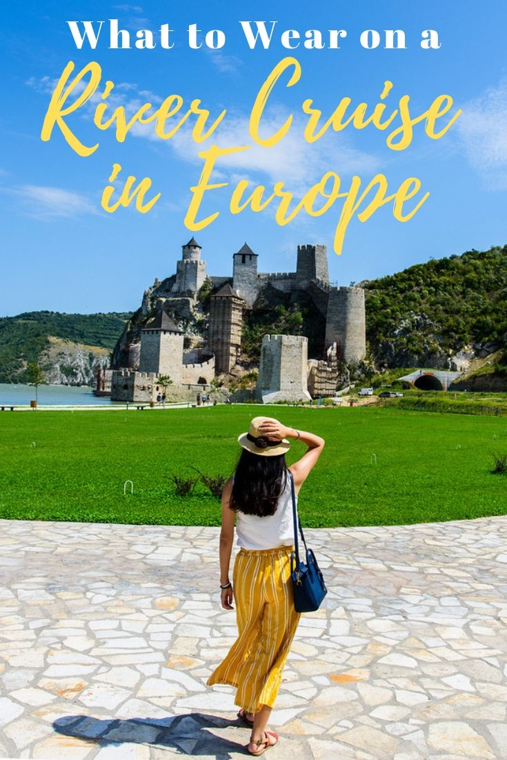 What to Wear on a River Cruise in Europe - Packing List #summercruiseoutfits
