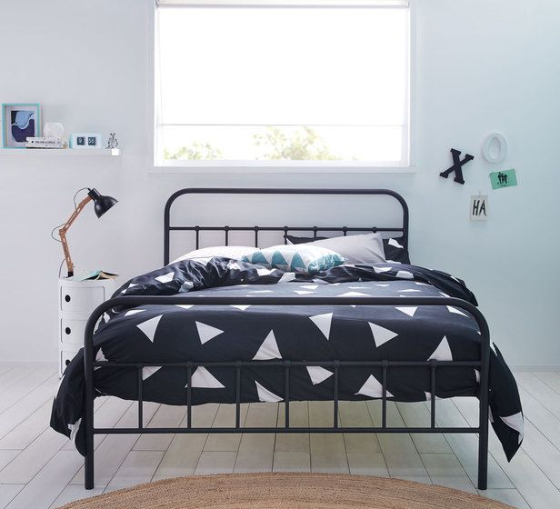 super popular 0d7ef fe0c1 Willow Double Bed | Kids Rooms in 2019 | Black bedding, Bed ...