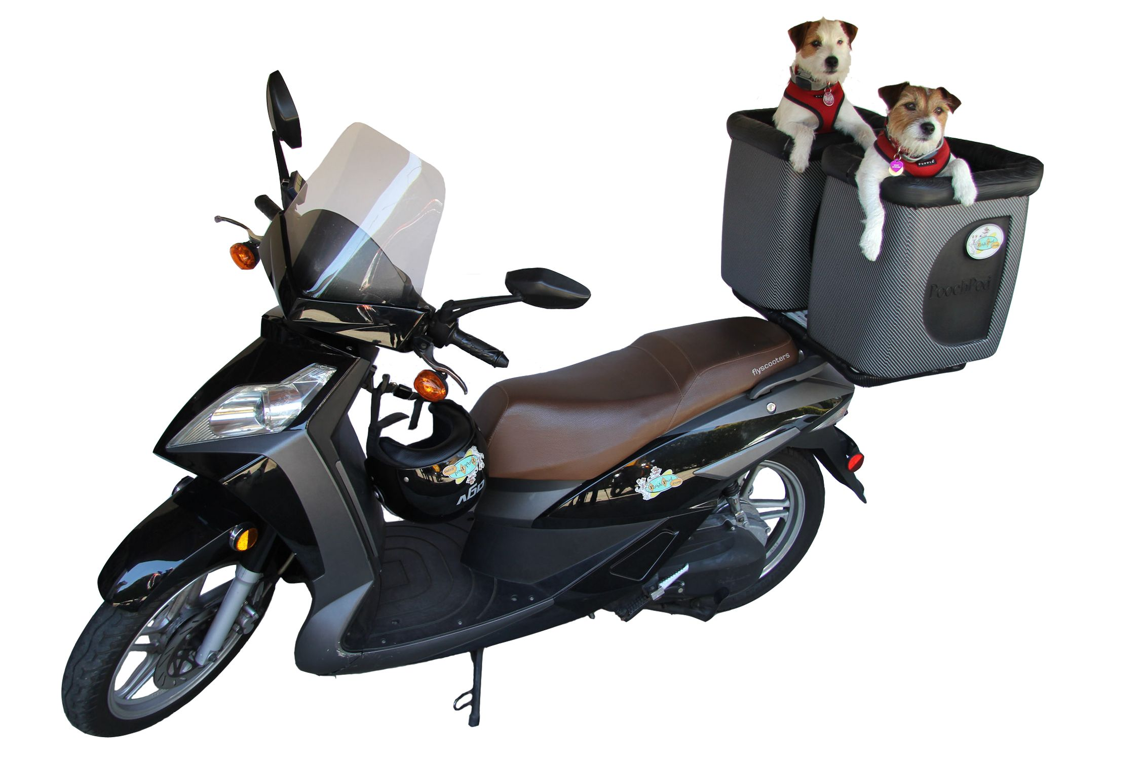 Poochpod Mobile Pet Carriers For Motorcycles Scooters