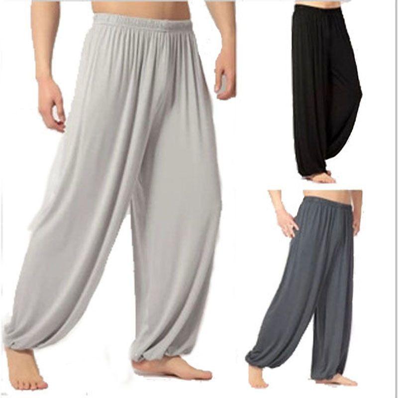 8 Color Plus Size L XXXL Super Loose Sweatpants Yoga Pants Men Mens Joggers Trousers