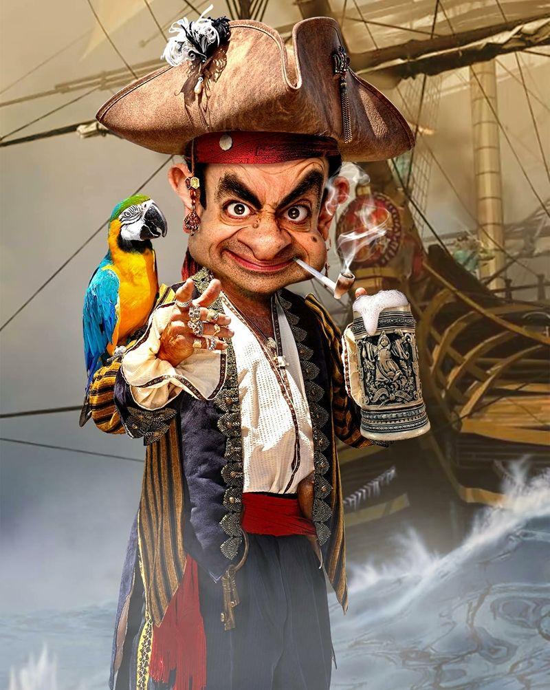 Картинки пиратов приколы, открытка