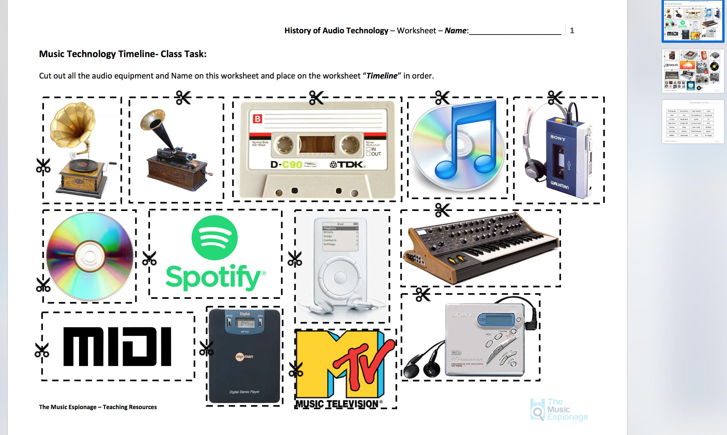 History Of Audio Technology