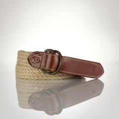 Jute D-Ring Belt - Polo Ralph Lauren Belts & Braces - RalphLauren.com