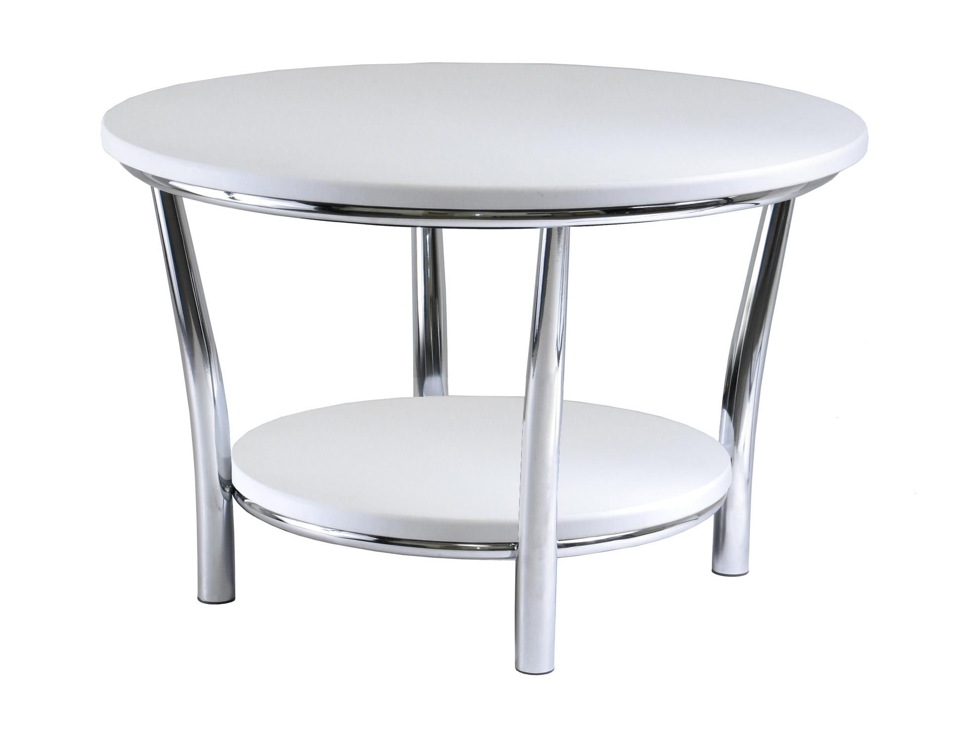 Black And White Painted Coffee Table