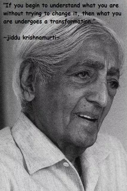 J Krishnamurti S Choiceless Awareness J Krishnamurti S
