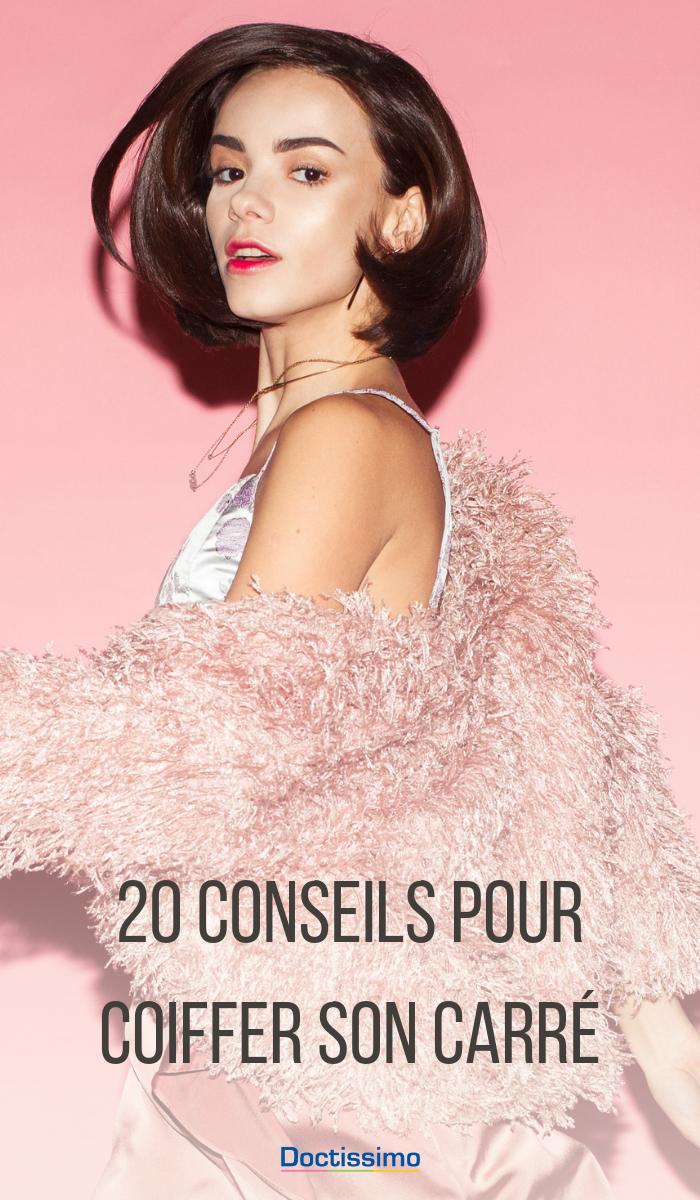 Comment coiffer un carré : 20 idées pour savoir comment coiffer un carré en un tour de main en ...