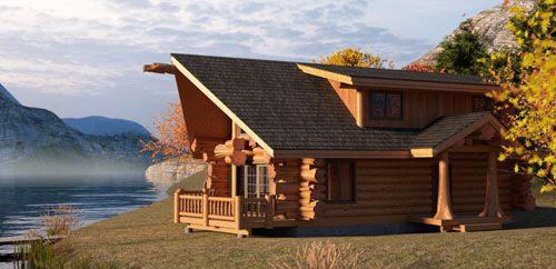 Cedar Log Home Plans Under 1500 Sq Ft Cedar Log Cabins Bc Canada Small Log Home Plans Log Homes Log Cabin Floor Plans