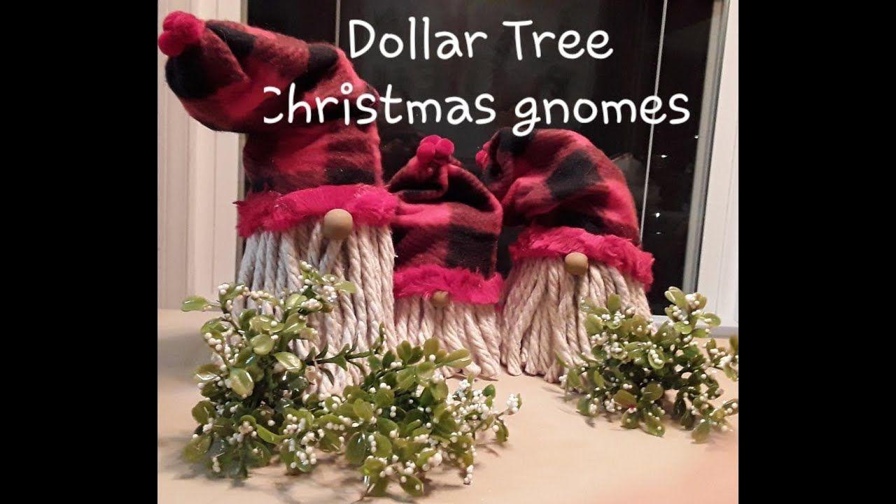 Dollar Tree DIY Christmas gnomes YouTube Dollar tree
