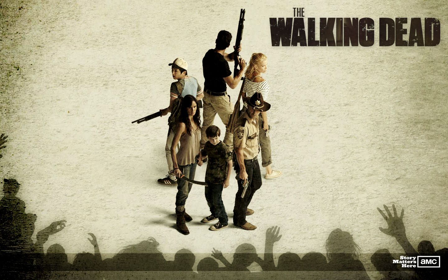 The Walking Dead Free Wallpaper
