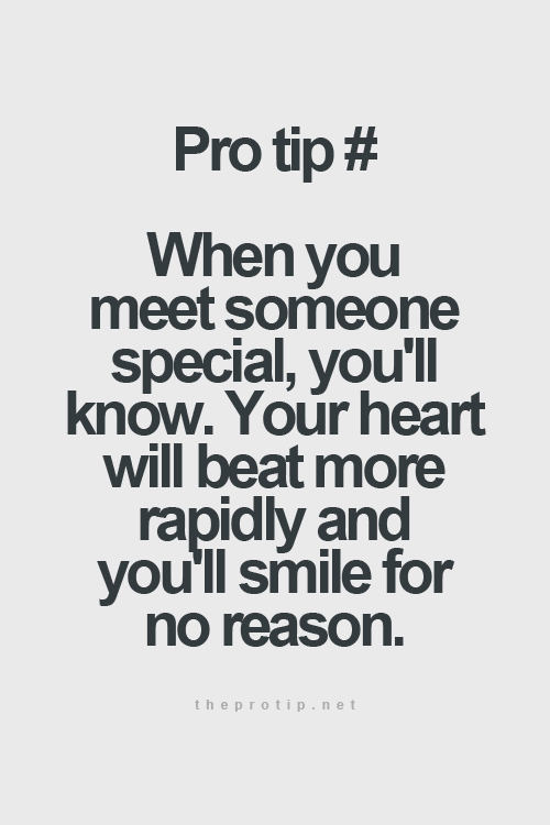 Meeting Someone Special Wise Words And Quotes New Love Quotes