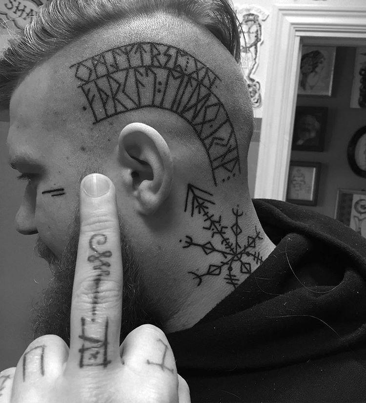 Minimal Inspiration Inkstinct Inkstinct Inspiration Minimal In 2020 Viking Tattoos Rune Tattoo Viking Rune Tattoo