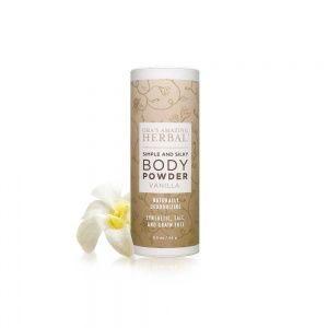 Ora's Amazing Herbal - Synthetic, Talc and Grain Free, Vanilla Body Powder