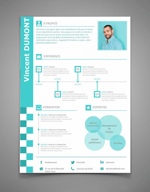 CV designer à télécharger Resume design, Cv design