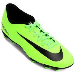58d62a469540d Chuteira Campo Nike Mercurial Vortex 3 FG Masculina Verde+Preto nqzkzm7398- Nike Zapatos