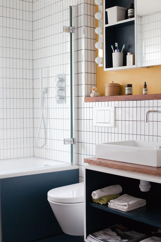 blue bathroom blue linoleum white tiles catalano sanitaryware