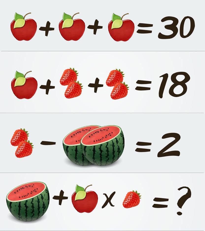 Примеры из картинок с ответами