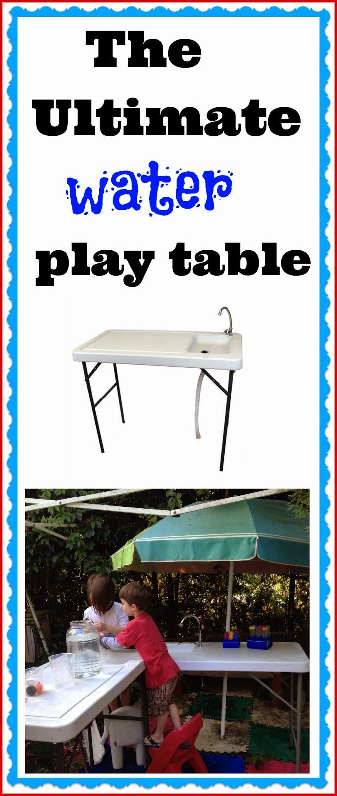 The Ultimate Water Play Table | Epic Childhood