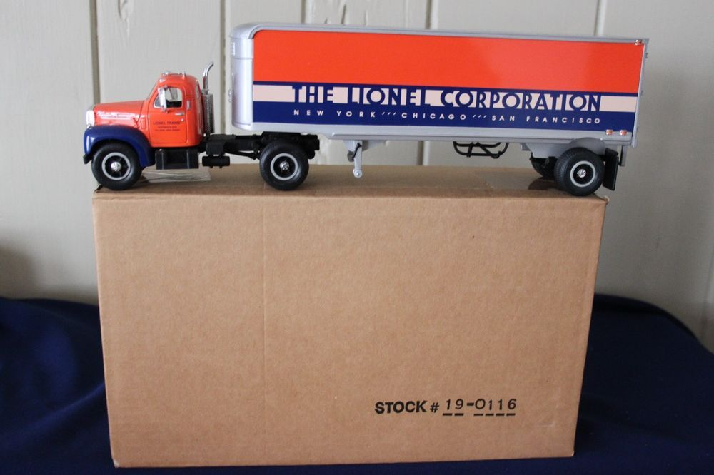 5a451540a3b Used first gear lionel corp. b-61 mack tractor trailer #19-0116 ...