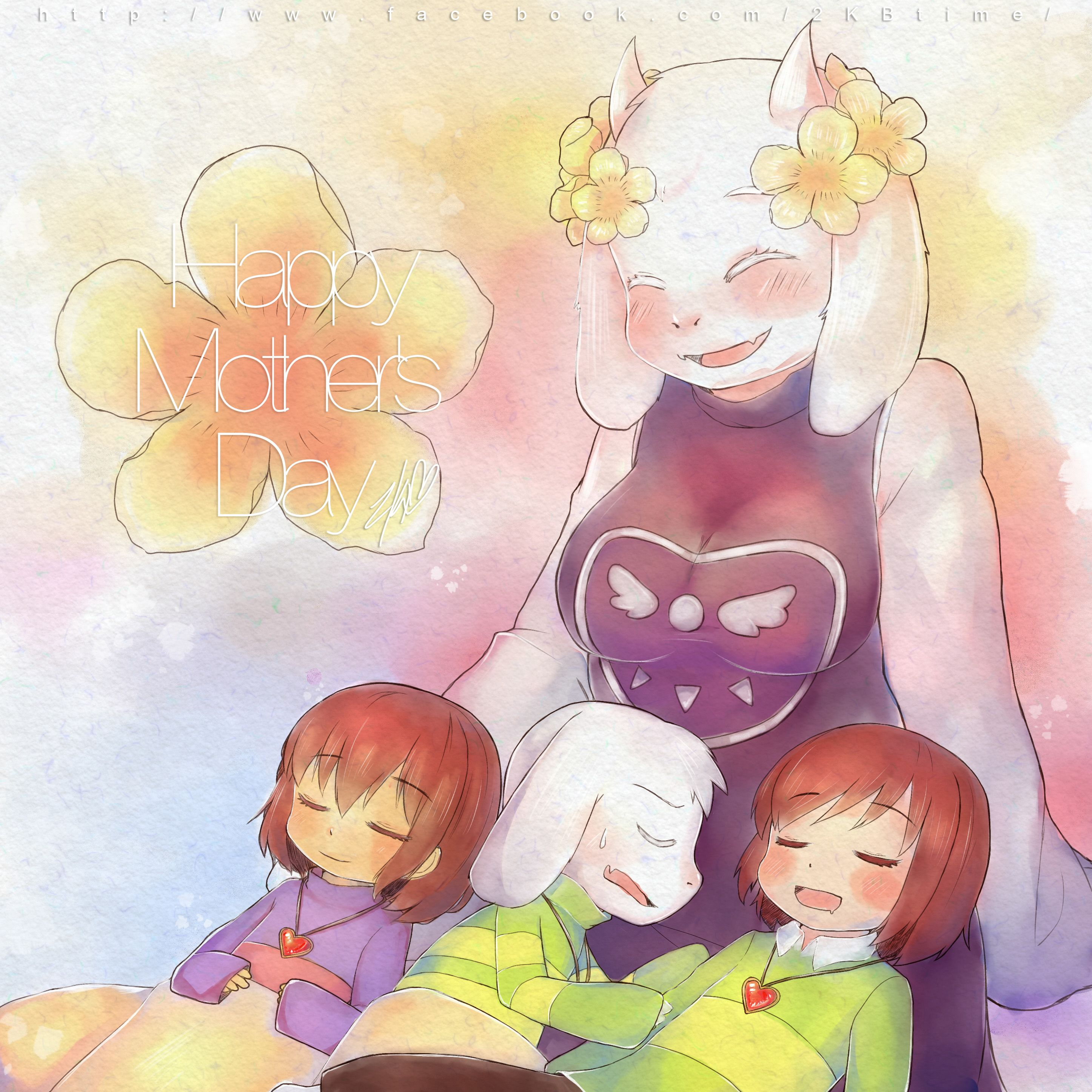 Tori Chara Undertale 2019 Frisk Asriel El And