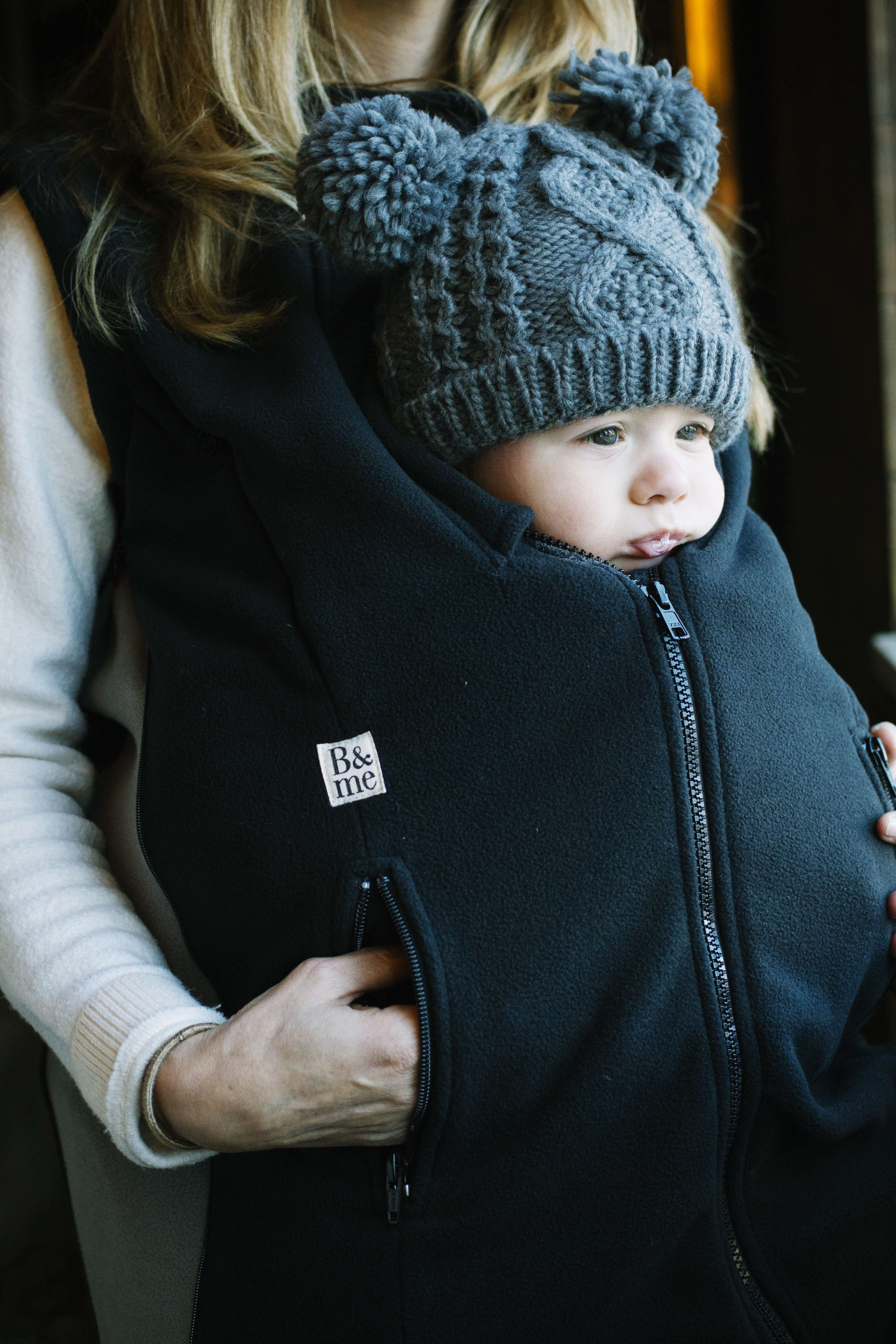 Booker Vest In All Black New Baby Wearing Style Pinterest