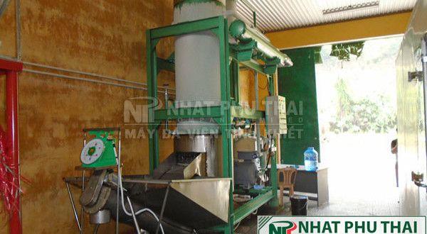 Lắp đặt máy đá viên 8 tấn tại Thủy Điện, Hương Điền, Huế
