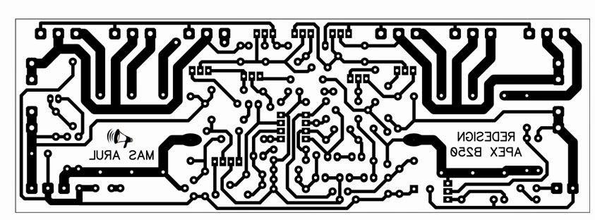 Power Amplifier APEX B250 in 2019 | skema | Audio amplifier, Circuit