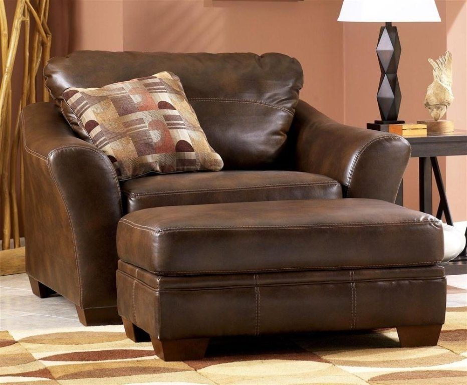 Elegant Room · Sitting Room Living Room Chair And Ottoman Brown Oversized ... Good Looking