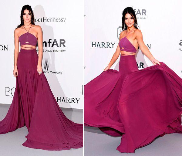 Cannes 2015: vestidos coloridos - Constance Zahn | Cannes, Melanie ...