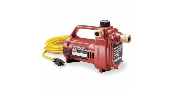 Liberty Pumps 331 1 2 Hp Portable Utility Pump 115v 20 Cord Utility Pumps Pumps Plumbing Pumps