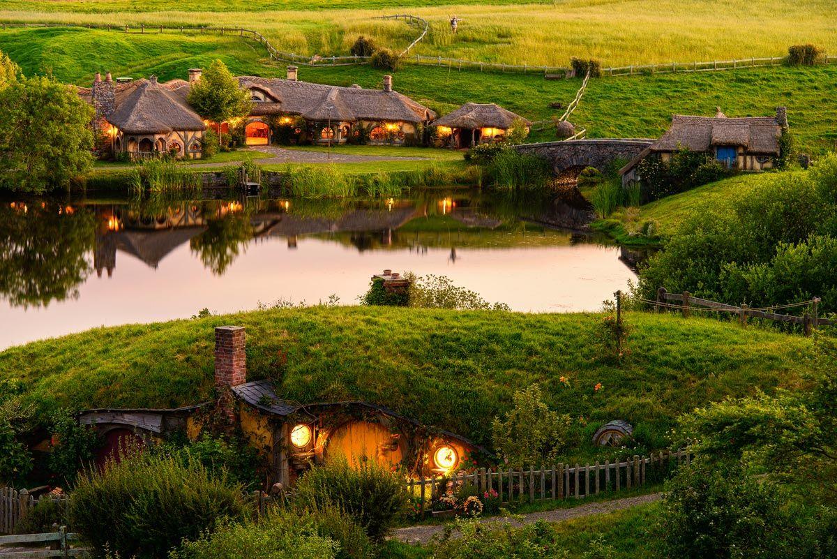 Beautiful villages hobbiton village new zealand
