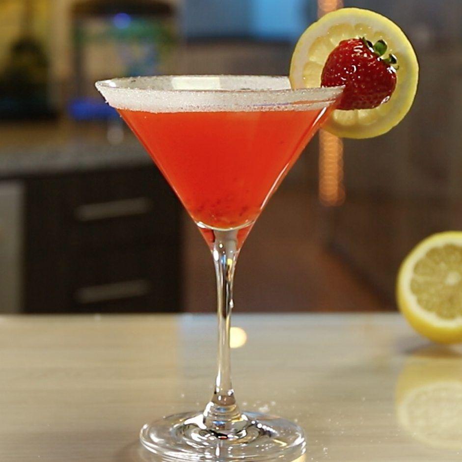 Strawberry lemon drop with images strawberry lemon