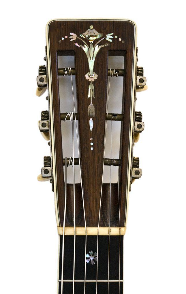 Pearls of Wisdom - Inlays on Martin Guitar Headstock