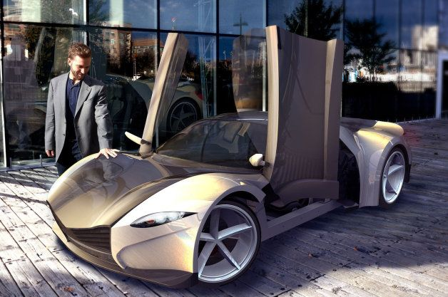 Dubuc Canadian Diy Supercar To Debut In Montreal W Video Sports Car Kit Cars Car