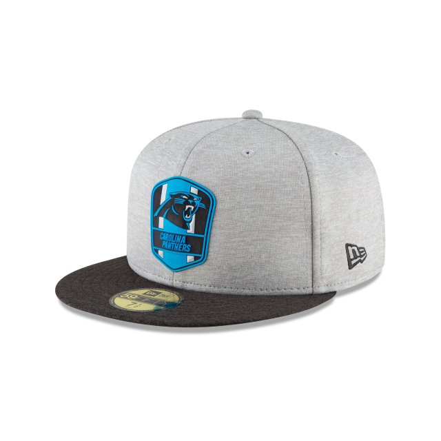 CAROLINA PANTHERS OFFICIAL SIDELINE AWAY 59FIFTY FITTED  473dfe919