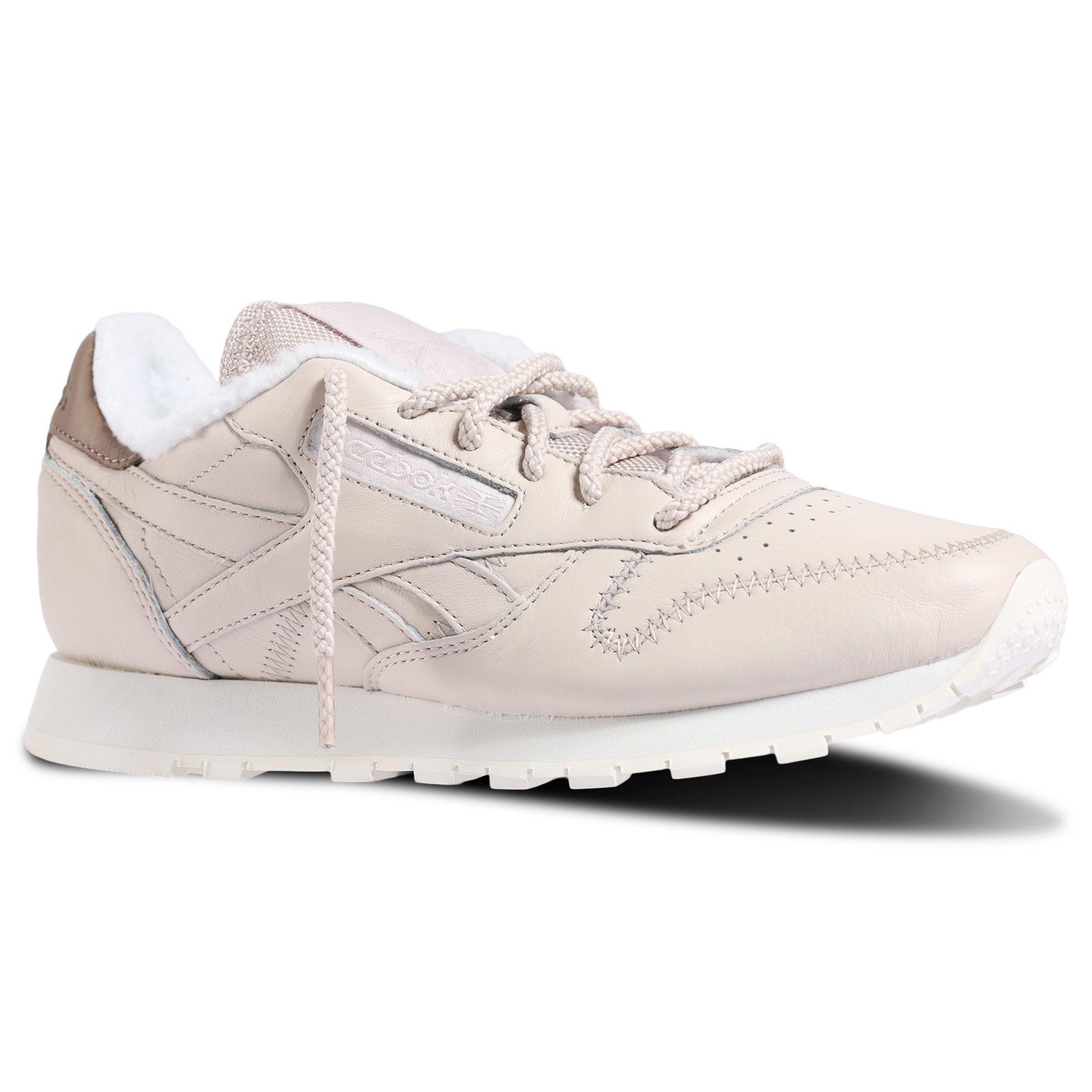 0e728af7126 Reebok Утепленные кроссовки Classic Leather Alpine - белый