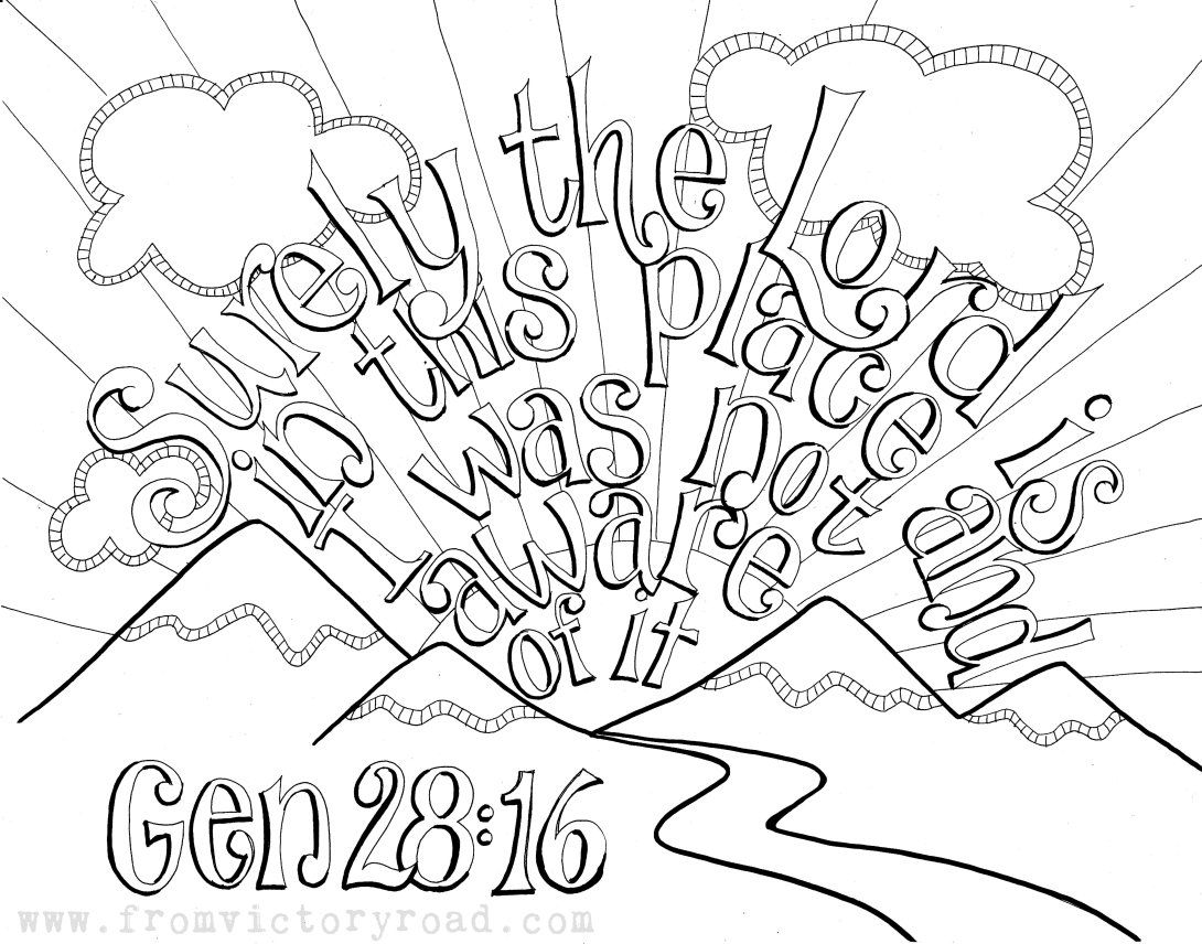 Matthew 724 Coloring Page (With images) Scripture