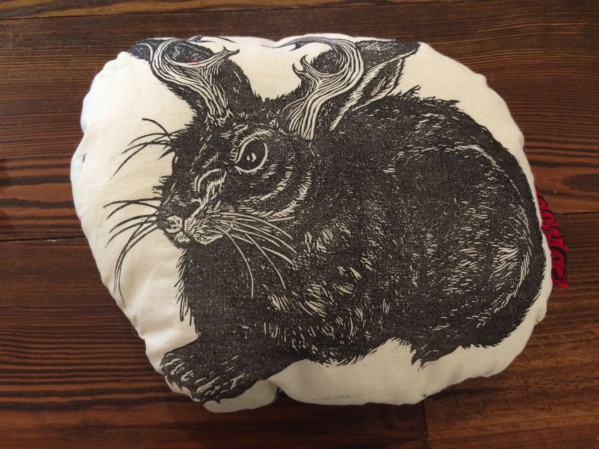 Jackalope Pillow